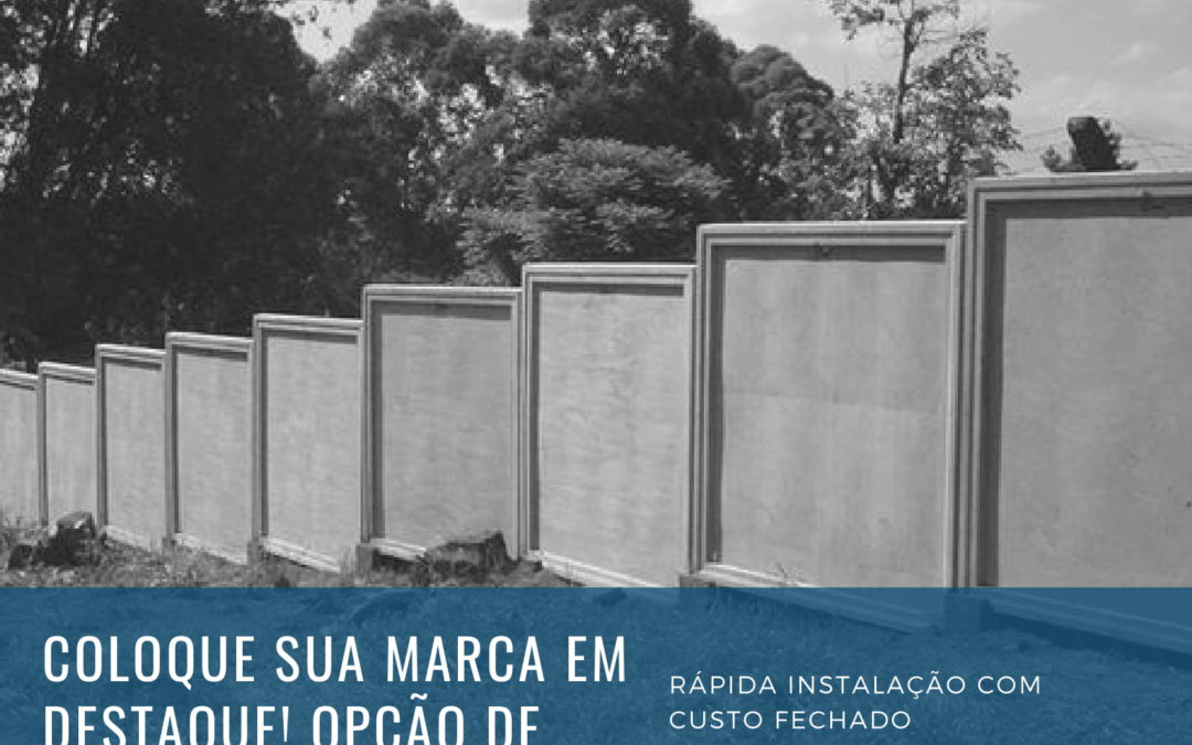 MURO PLACÃO COM MOLDURA