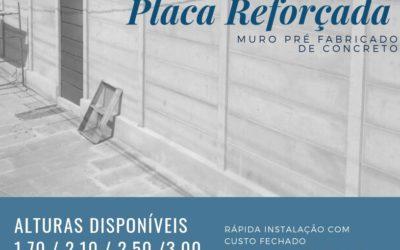 MURO PLACA REFORÇADA